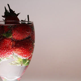 by Gilang Ariefian Gutama - Artistic Objects Glass ( strawberry )