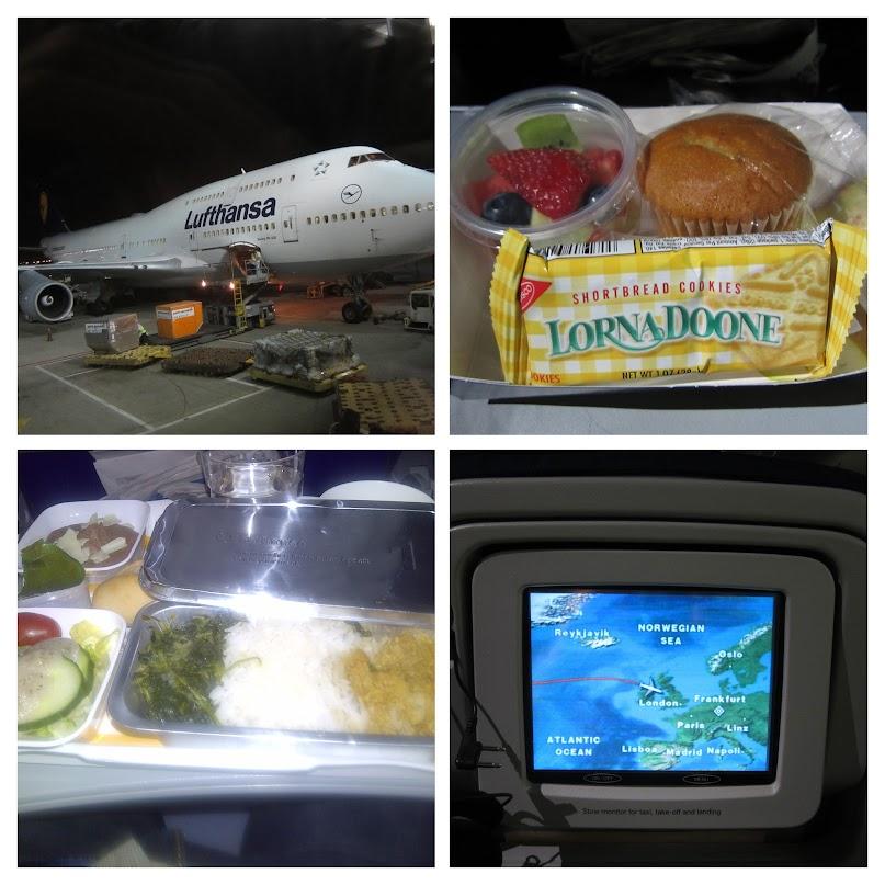 Lufthansa, food