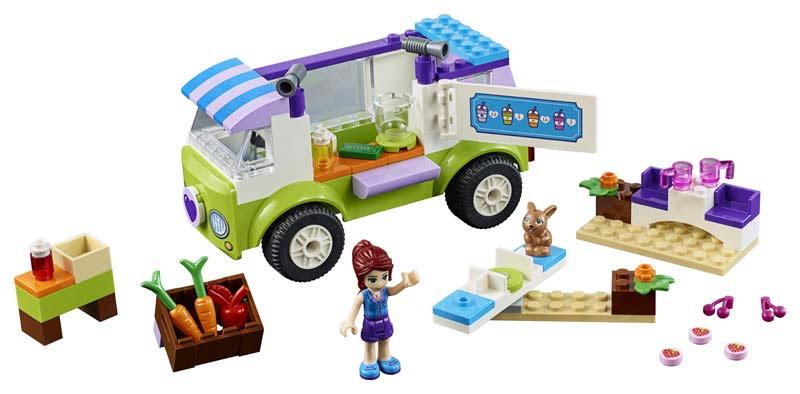 Contenido de Lego® 10749 Mercadillo Orgánico de Mia