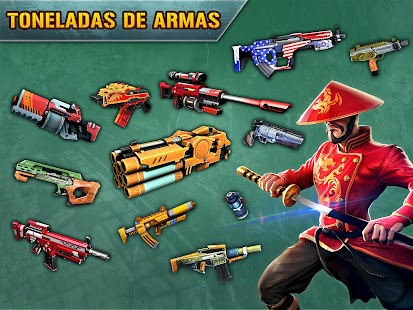 Blitz Brigade - FPS on-line!: miniatura da captura de tela