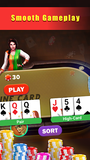 Hazari Gold (u09b9u09beu099cu09beu09b0u09c0)-1000 Points Game with 9 Cards apktram screenshots 6