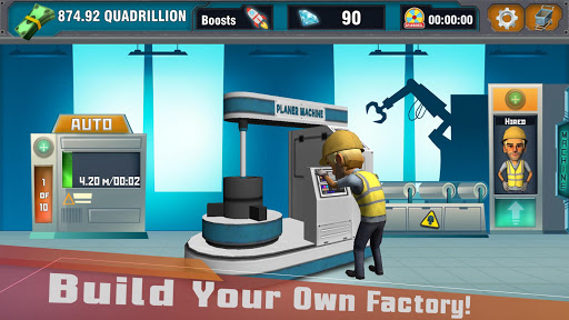 Factory Tycoon : Idle Clicker Game 0.4 screenshots 6