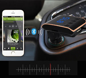Modulator Bluetooth FM Q10 Car Kit Handsfree