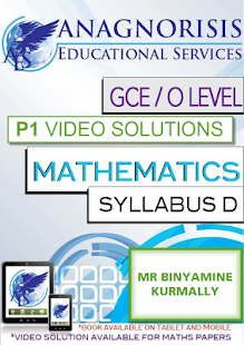 Video Solutions CIE O Level Maths D Paper 1 - náhled