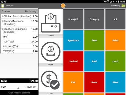 restaurant pos mobile ordering android apps on google play. Black Bedroom Furniture Sets. Home Design Ideas
