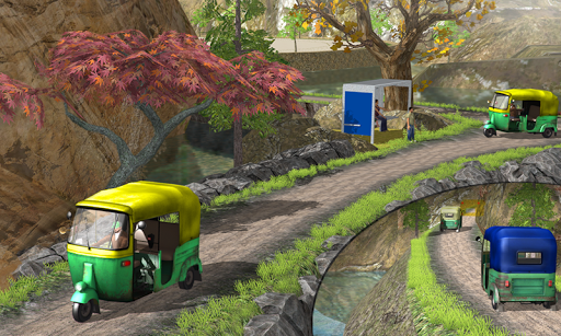 Off Road Tuk Tuk Auto Rickshaw screenshots 5
