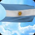 3D Argentina Flag Wallpaper icon