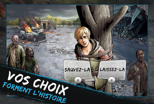 The Walking Dead: Road to Survival  captures d'écran 1