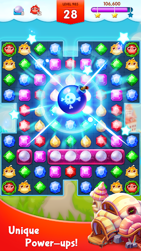Jewels Legend - Match 3 Puzzle apkdebit screenshots 4