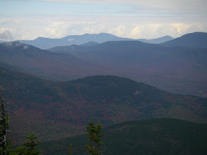 Photo: A distant Franconia Ridge and Mount Garfield.