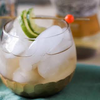 Ginger White Wine Spritzer.
