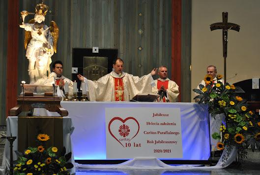 Peregrynacja figury Św. Michała - Jubileusz Caritas 2010-2020 - dzień 1 - 04.09.2020