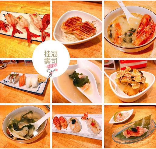 CP值高高的壽司✨✨ 材料新鮮也不貴!難得生魚片我會直接吃👍 炙燒焦糖溏心蛋好好吃❤️