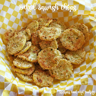 Baked Yellow Squash Chips Recipes