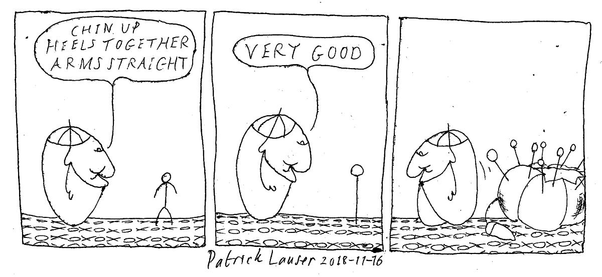 HANGMEN - Cartoon Strip - One of the best