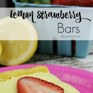 Lemon Strawberry Bars