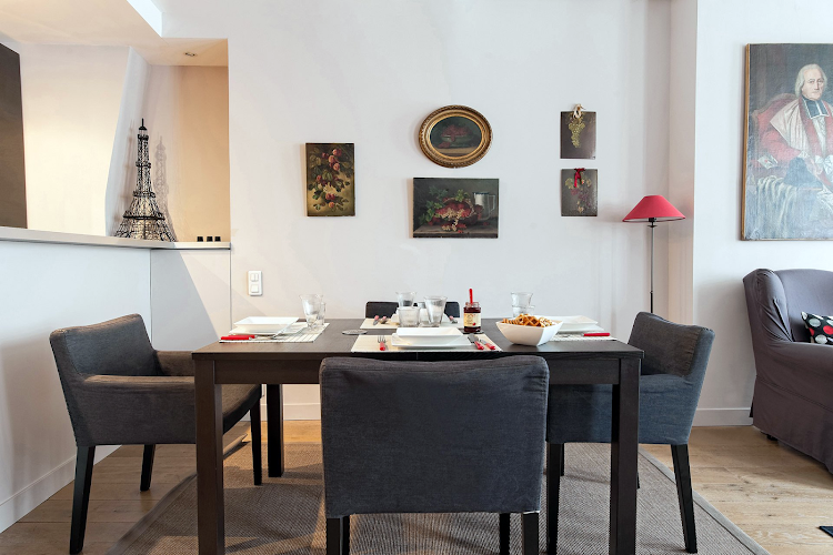 Dining space at Banyuls Apartment