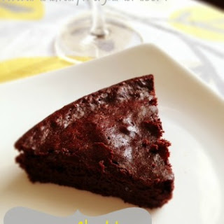 Flourless Chocolate Wine Torte