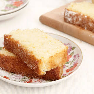 Orange, Coconut and Semolina Cake.