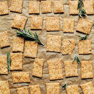 1-Bowl Vegan Gluten Free Crackers.