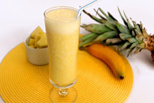 Pineapple Apple Banana Smoothie