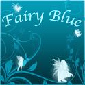 Fairy Blue Clock icon