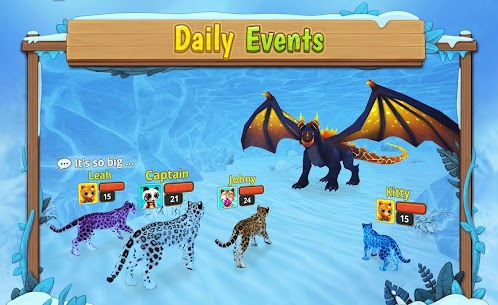 Snow Leopard Family Sim Online  Apk Download For Android and Iphone 4