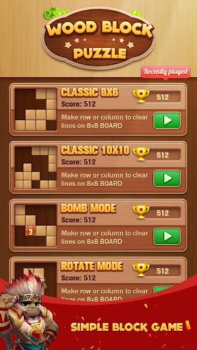 Wood Block Puzzle 2020 screenshot 1