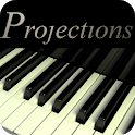 Piano projections icon