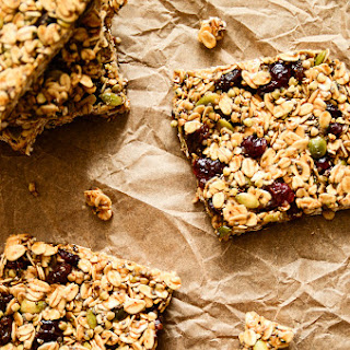 Pumpkin & Cranberry Granola Bars