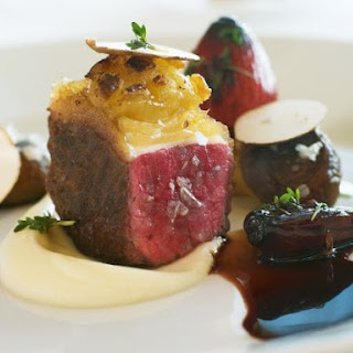 Gourmet Beef with Celeriac Puree and Jus