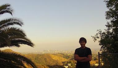 Photo: The city of LA in backdrop