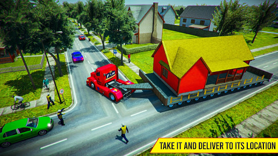 Download House Mover Job: House Transport Truck Driver 2019 For PC Windows and Mac apk screenshot 4