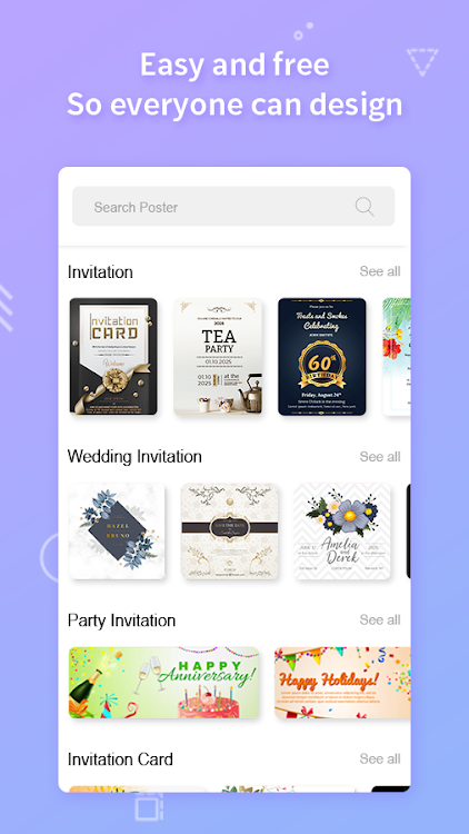 Invitation Maker Invitation Card Maker Android Apps