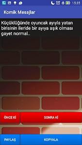 Komik Mesajlar screenshot 2