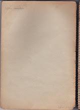 Photo: « Au nom de Dieu ». C'est une vieille coutume hongroise que d'inscrire cette phrase en exergue d'un cahier.