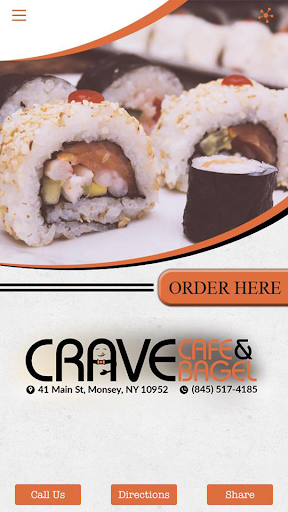 Crave Cafe Bagel Monsey