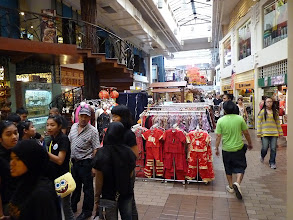 Photo: KL (Kuala Lumpur) - central market or in malay language Pasar Seni, it's not actually market but ordinary expensive airconditioned smaller shopping mall