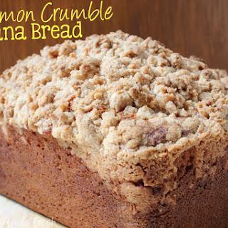 Cinnamon Crumble Banana Bread