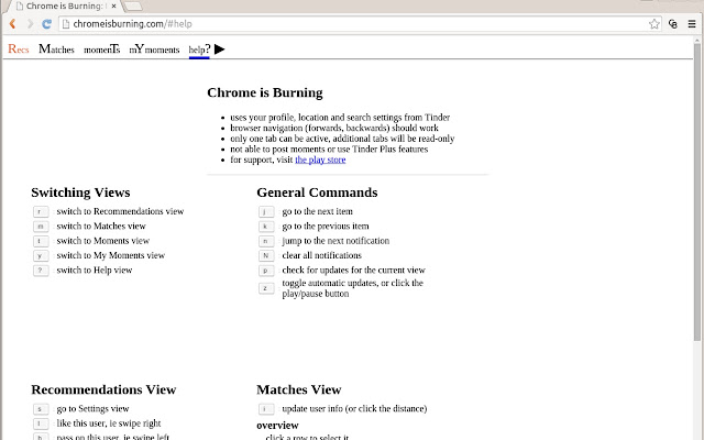Chrome Is Burning