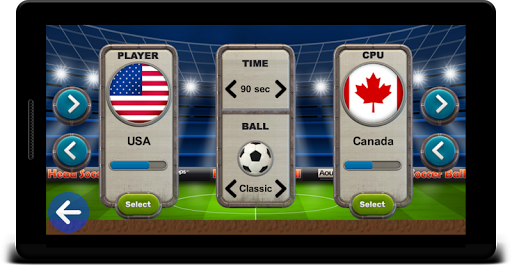 Head Soccer Ball - Kick Ball Games 3.5 screenshots 2