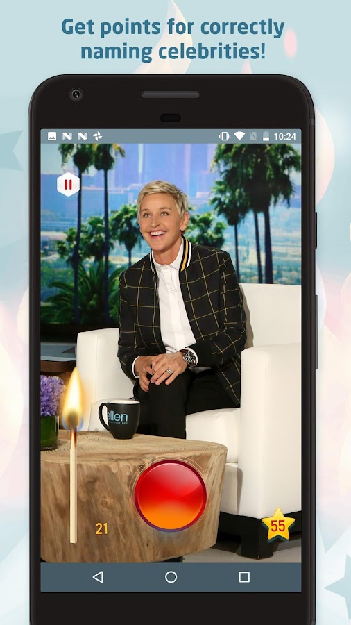ellen degeneres heads up board game instructions