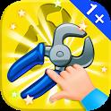 Baby Puzzles. Garage Tools icon