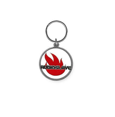 Audioslave Band Logo Metal Keychain