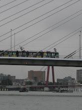 Photo: De Dockyard V vertrekt om 9.00 uur uit de Leuvehaven