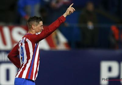 Atletico weet (dankzij Fernando Torres) weer wat winnen is, Yannick Carrasco slechts invaller