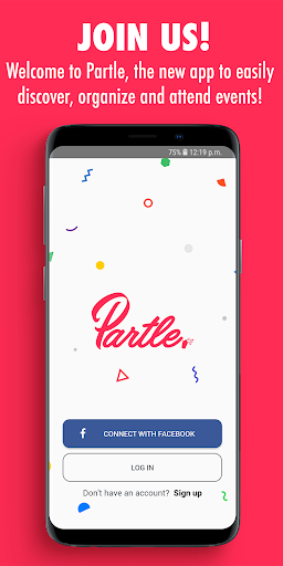 Partle: Organize and attend events! screenshot 4