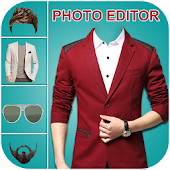 Casual Man Suit Photo Editor 2017