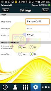 Farhancall2 - náhled
