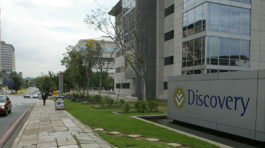 Discovery building in Sandton. Picture: SUNDAY TIMES/SYDNEY SESHIBEDI